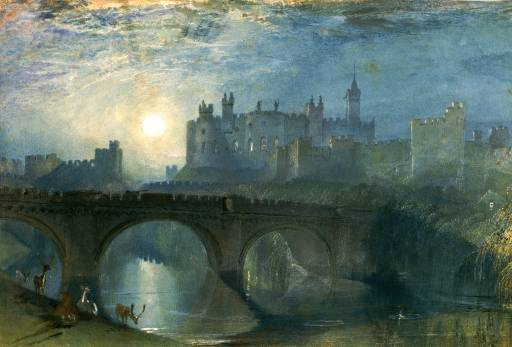 Alnwick castle northumberland 1825 1828 xx national gallery of south australia adelaide australia